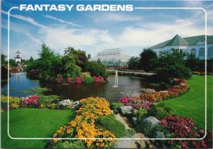 Fantasy Gardens Richmond BC British Columbia Unused Postcard D36