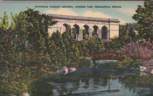 Indiana Indianapolis Thomas Taggart Memorial Riverside Park
