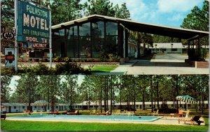 Postcard Folkston Motel in Folkston, Georgia~132348