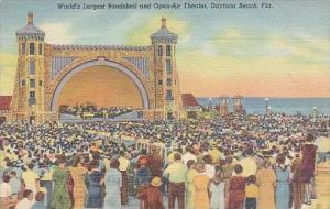 Florida Daytona Beach Worlds Largest Bandshell And open Air Theater