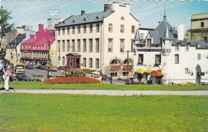Coin Pittoresque, Place d'Armes, Quebec, Canada, PU-1977