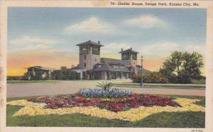 Missouri Kansas City Shelter House Swope Park 1942