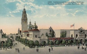 SAN DIEGO , California, 1915 Exposition; California & Science of Man Buildings