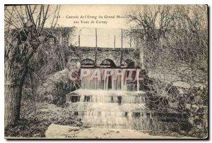 Postcard Old Waterfall of Grand Etang Moulin aux Vaux Cernay