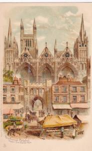 PETERBOROUGH , Cambridgeshire , England , 00-10s ; Peterborough Cathedral , W...