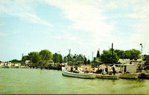 Maryland Smith Island Greetings From Tylertown Harbor Scene