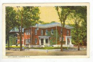 Library, Concord, New Hampshire, PU-1922
