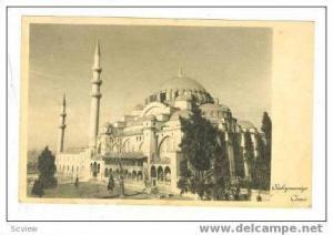 Suleymaniye Camii, Istanbul, 20-30s Turkey