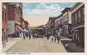 Maryland Lonaconing Main Street Trolley