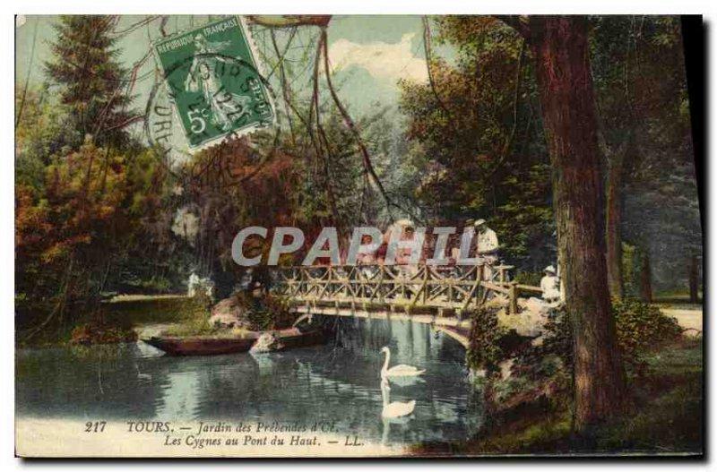 Postcard Old Garden Tours Pr?bendes Oe
