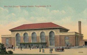 POUGHKEEPSIE , N.Y. , 1900-10s ; N.Y.C. Railroad Train Station