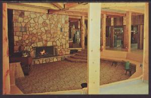Watuck Lodge,Cooke City,MT Postcard