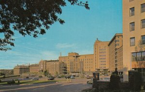 CHICOUTIMI , Quebec , 1950-60s ; L'hopital Hotel-Dieu St-Vallier