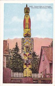 Alaska Ketchikan Totem Pole Of Thlinget Chief Kian