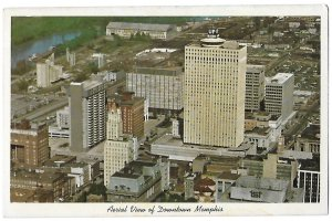 Aerial View of Downtown Memphis Tennessee A Place of Good Abode