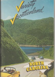 1950s Variety Vacation Guide to North Carolina