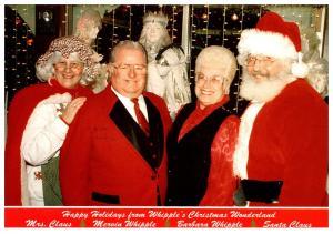Connecticut , Dayville , Whipple's Christmas Wonderland ,  Mr.and Mrs. W...