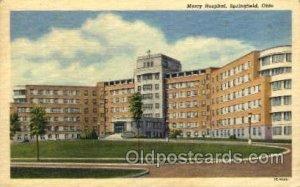 Mercy Hospital Springfield, OH, USA 1961