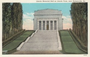 HODGENVILLE, Kentucky, 1910-20s; Lincoln Memorial Hall on Lincoln Farm