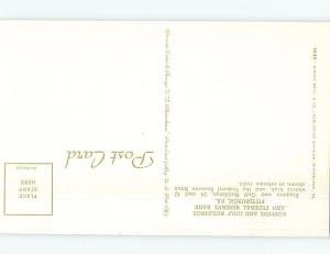 Unused Pre-1980 FEDERAL RESERVE BANK BUILDING Pittsburgh Pennsylvania PA G1512