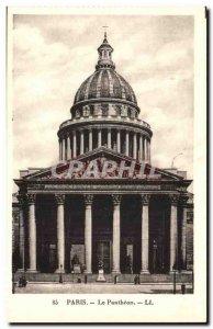 Paris - 5 - The Pantheon - Old Postcard