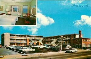 VA, Virginia Beach, Newcastle Motel, Multi View, Dexter Press, No. 19714-C