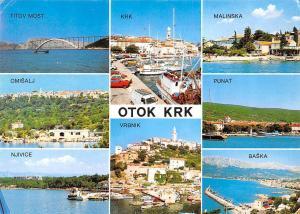 Croatia otok Krk multiviews Titov Most Malinska Punat Baska Vrbnik Njvice