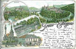 Ansichtskarten POSTCARD: GRUSS AUS - Czech Republic: Loket - Elbogen