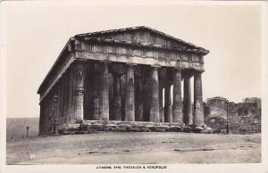 RP; Athens , The Theseion & Acropolis , Greece , 20-30s