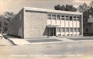 Brookings South Dakota Clinic Real Photo Antique Postcard K82182