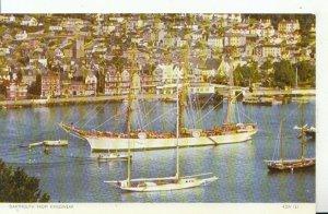 Devon Postcard - Dartmouth from Kingswear - Ref 16648A