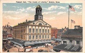 Faneuil Hall Boston, Massachusetts