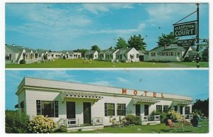 Saco,  Maine, Vintage Postcard Views of Clearview Motor Court