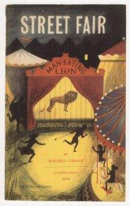 Street Fair by Marjorie Fischer 1949 Puffin Book Postcard