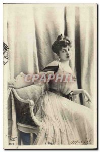 Old Theater Postcard Fantaisie April
