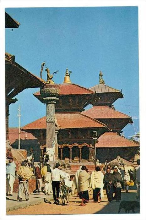 Durbar Square Patan (Lalitpur) , Nepal, 40-60s