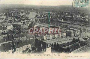 Postcard Chateau Thierry Old Town