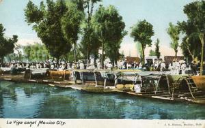 Mexico - Mexico City, La Viga Canal