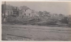 RP: Cyclone Damage , REGINA , Sask., Canada , 1912 ; View #11