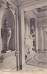 Interieur De La Chapelle, Details d'Architecture, Monument Commemoratif De l'...