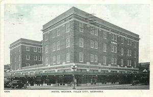 NE, Falls City, Nebraska, Hotel Weaver, Walrhaven Brothers No. 1878