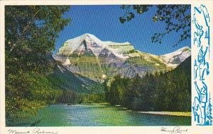 Canada Mount Robson British Columbia