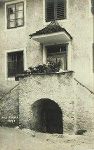 austria, PIANZ, Landeck District, Tyrol, Unknown House (1911) RPPC Postcard