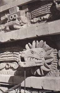 RP, Templo De Quetzalcoatl, Teotihuacan, Mexico, 1930-1950s