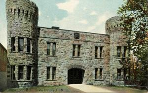 RI - Newport.  Armory