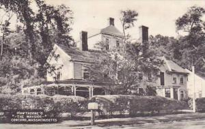 Massachusetts Concorn Hawthornes The Wayside