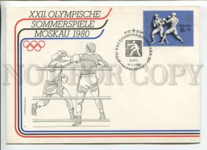 433412 USSR 1980 Moscow Olympics Games boxing German edition Haettenschweiler