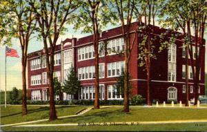 New York St Johnsville High School Curteich