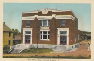 SIOUX LOOKOUT , Ontario , Canada , 1930s ; Post Office