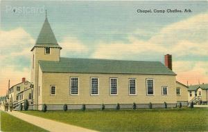 AR, Camp Chaffee, Arkansas, Chapel, Tichnor No. 74313